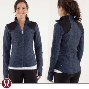 LULULEMON  Forme Jacket Reversible Slub Denim